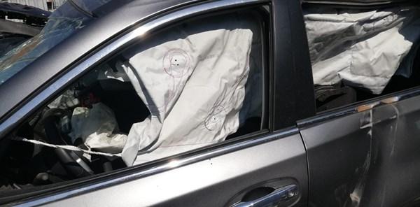 auto ocn airbag aperto demolizione auto